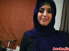 Arapski hijabi трахнул u zabranjeni zbijeno maca