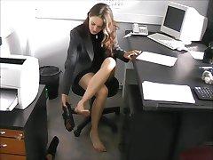 barefoot secretary Nadya