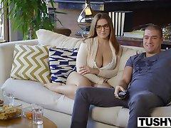 TUSHY First Anal For Curvy Natasha Nice