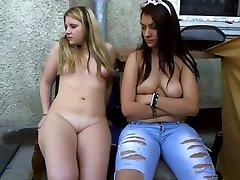 dva mladih za mlade mastrubate na balkonu