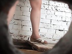 pissing in toilet 1355
