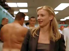 Cfnm Cameron Diaz And Nude Atletes In Locker Room