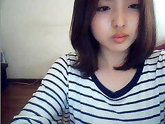 korejski djevojka na web kameru
