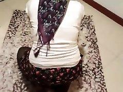 Turkish hijabi wife talks horny