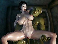 3D kamena princeza