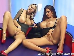 Tina Love & Jessica Lloyd G G action pt2