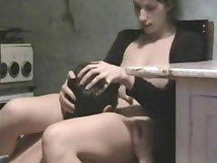 Amateur brunette homemade sex