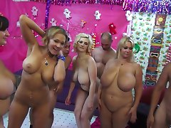 orgy of big boobs