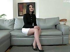 Mokra djevojka čvrsto grla zajebavati
