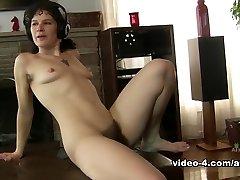 Fabulous pornstar in Crazy Solo Girl, Hairy xxx movie
