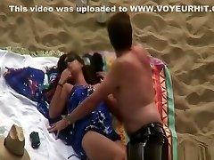mršavi žena jebanje na plaži