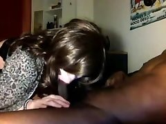 First-timer CD Crossdresser Has Her Ass Fucked By Black Man Rod