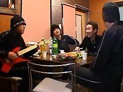 Greatest Japanese model Sakura Sakurada, Rui Ohtsubu, Yuri Shiroyama in Horny Jizz Flow, Couple JAV scene