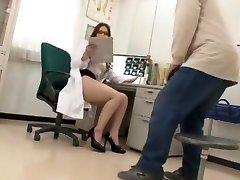 Fabulous Japanese whore Ai Sayama in Hottest Nurse, Fledgling JAV vid