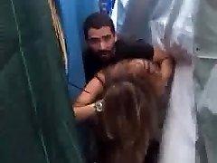 Lebanese couple cought fucking