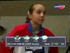 Nizozemski гимнаст Verona Van de Леур porno 2015