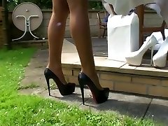 LGH - Tamia Outdoor Fucking High-heeled Shoes