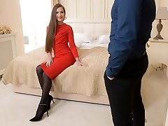 Motel room anal meeting with Mary Rock
