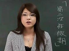 Erika Sato - Woman Lecturer Nakadashi Anal Brunt