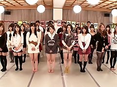 Saki Hatsuki, Maika, Arisu Suzuki, Yu Anzu in Fan Thanksgiving BakoBako Bus Travel 2012 part 1.Two