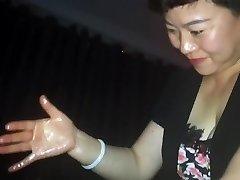 Chinese indian desi jock massage with cum - part 2