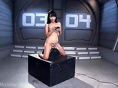 Cute Asian Bonks Sex Tool Machines