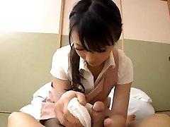 जापानी सुंदर हाउस नौकरानी