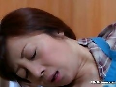 outstanding Asian mature fucked by husband