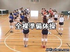 शौकिया जापानी किशोर नग्न 3 बजाना