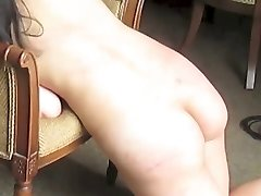 Spanking & Whipping an Amateur Japanese M