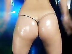 Micro bikini oily dance-Two Harukitomi (Uncensored)