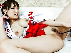 Most Good Japanese girl Mikuni Maisaki in Crazy JAV uncensored Cosplay movie