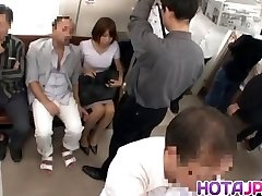 Hawt MILF Gets Her Pantyhose Pulled Down To Fuck On A Train
