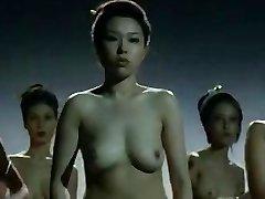 Nude China ladies  fighting