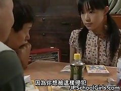 Chinese Babe in Gangbang lovemaking