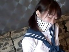 nice asian schoolgirl escape bondage 1