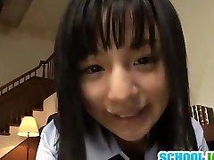 एशियाई बालों वाली कट्टर जापानी