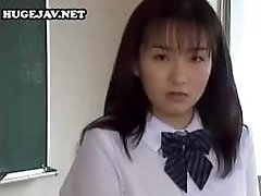 Asian schoolgirl gets abused and abused by these horny guys