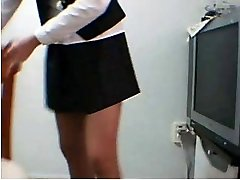 Korean Amateur School Uniform Tease Getting Off