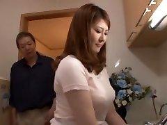 अद्भुत जापानी बेब में ब्लोजोब, पीओवी जापानी दृश्य