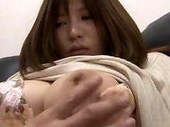 Marvelous Japanese chick Yuka Kojima in Crazy Oldie, Casting JAV clip