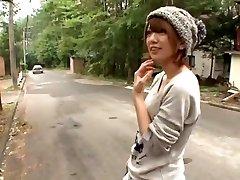 Horny Asian dame Mayu Nozomi in Exotic Voyeur, 3D Toons JAV clip