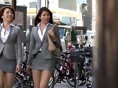 Kinky Japanese model Azusa Maki, Kaede Imamura, Makina Kataoka in Greatest Compilation, Voyeur JAV movie
