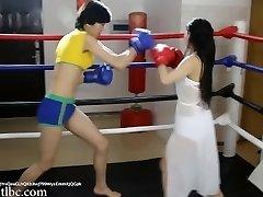 कुश्ती 0024; चीनी मुक्केबाजी लड़की