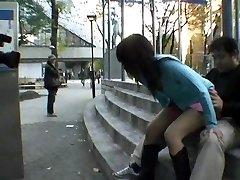 Straight round bear sex in public