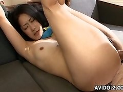Asian whore loves to ride the dude's hot bone