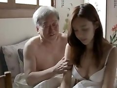 Korean Father-in-Law Fuck His Son's Wifey
