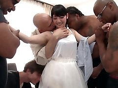 Rei Mizuna in Rei Does Her First Interracial Group-sex - TeensOfTokyo