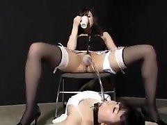 Jap urinate femdom 1
