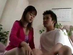 Asian Teen drinks cums...F70